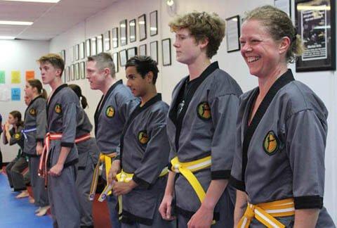 Adults martial arts classes
